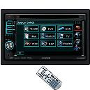 6.1 Inches Wide Double-Din Size Monitor With Dvd Receiver