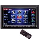 7 Inches Wide Double-din Size Monitor And Dvd Video Receiver