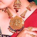 22 Carat Gold Special Pandal Gold Set
