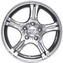 14 X 6 Size Wheel In Hyper Silver Finish
