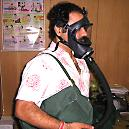 Gas Mask With Canister