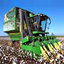 Cotton Picker With Hydraulic Telescoping Basket