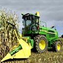 Forage Harvester With Fuel Efficient Engines