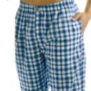 Woven Pant Made Of Yarn Dyed Woven Cotton