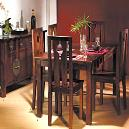 Dinning Table With Solid Mahogany Finish