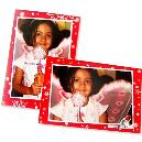 Photo Greeting Card With Dimension 5.95 X 4.15 Inches