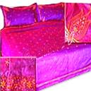 Hand Embroidered Bedding Products