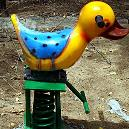 Duck Shaped Rider For Playing Grounds