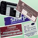 Anodised Aluminium Nameplates