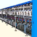 Double Deck Embroidery Thread Machine