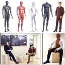 Gents Mannequins Made Of Fiberglass