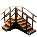 Straight Type Exercise Stair Case
