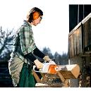 Quiet and Powerful Electric Chain Saws