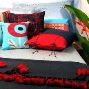 Handloom Upholstery Fabrics in Nordic Scandinavian Look