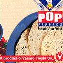 Urad And Mung Flour Mixed Papad
