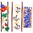 Red And Blue Flowers Design Inlay In Semi Precious Stone