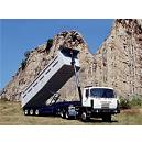 Top Hinged Tail Gate Tipping Trailer
