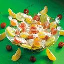 Fruity Candies in Lemon, Orange and Raspberry Flavours