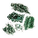 Green Coloured Emerald Gemstones