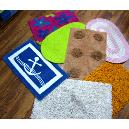 Cotton Pile Tufted Bath Mats