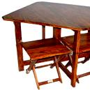 Wooden Standalone Dinning Table