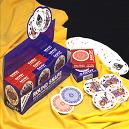 Round And Oval Playing Cards