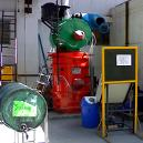 Industrial Waste Incinerator With Gas Scrubbing System