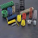 Coiled Helical Compression Springs