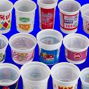 Easily Crushable Plastic Cup/Bowls