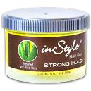Strong Hold Hair Gel