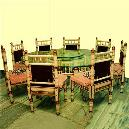 Designer Dinning Table with Eight-Chair