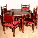 Round Shaped Dinning Table