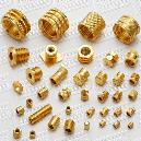 Square Shaped Brass Inserts