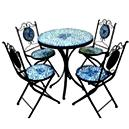 Glass Finished Dinning Table Set
