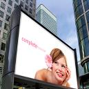 Flexible PVC Billboards with 3-4 kgf Tear Strength