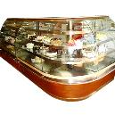 Bakery Display Cabinet with Front Bend Glass