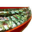 230V/ 50 Hz Voltage Operated Bakery Display Cabinet