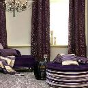 Purple Colored Home-Furnishing Fabric