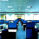 Workstation with Cubicles