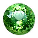 Round Shaped Peridot Stone