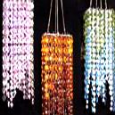 Decorative Glass Worked Hanging Lamp