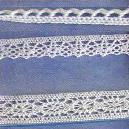 Woven White Colored Crochet Lace