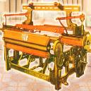 Weaving Machine with Heavy Duty Cast-Iron Frame