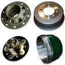Iron Casting made Hubs and Brake Drums