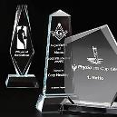 Glass Trophy/ Handcrafted Awards