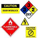 Band Saw Safety Label