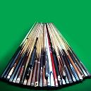 Single Piece Snooker Cue