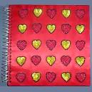 Handmade Heart Design Photo Album