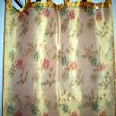 Dupioni Silk Fabric Curtain