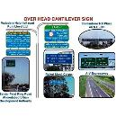 Heat Resistant Overhead Cantilever Sign
